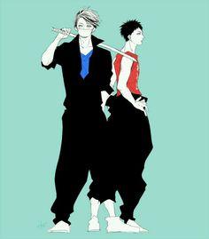 Haikyuu!! - Oikawa & Iwaizumi