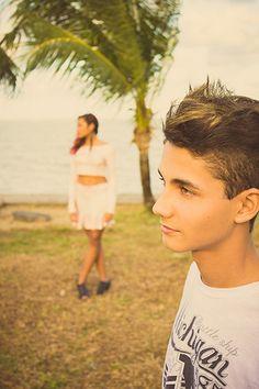 Fábio Alves e Stephany Cavalcanti