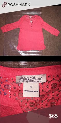 Lucky Brand Long Sleeve Top Lucky Brand Long Sleeve Top Lucky Brand Tops Blouses