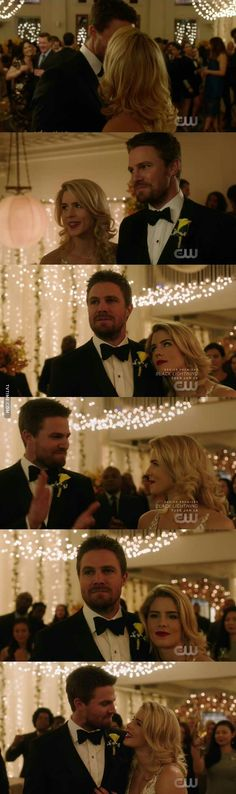Oliver post wedding is honestly the happiest I've ever seen him in 5 seasons of the show. I both love and emotionally compromised by the fact that being married to Felicity seems to have genuinely improved his outlook on life.