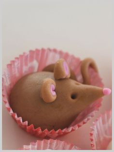 Adorable Marzipan Mice! Site has translate button. | My Vintage ...