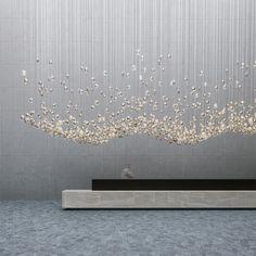 Lighting Constellation | bomma Interior Lighting, Lighting Design, Luxury Interior, Light Art, Lamp Light, Ceiling Lamp, Ceiling Lights, Exhibition Stand Design, Light Installation