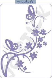 arabesco com flor lilas - Pesquisa Google