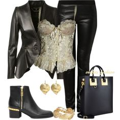 Corset outfit