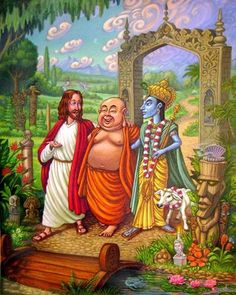 Jesus, Buda y Krishna! Didgeridoo, Affirmations, Ram Dass, Psy Art, A Course In Miracles, After Life, Indian Gods, Gods And Goddesses, New Age