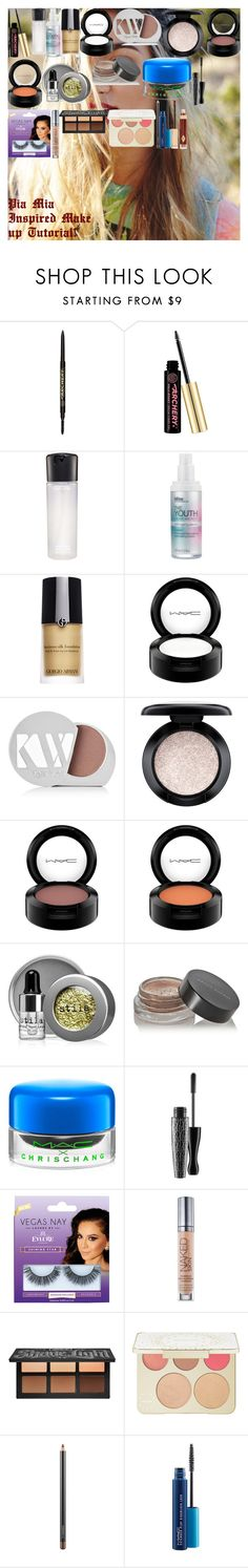 """""""Pia Mia Inspired Make up Tutorial!"""" by oroartye-1 on Polyvore featuring beauty, Soap & Glory, MAC Cosmetics, Bliss, Giorgio Armani, Kjaer Weis, Stila, Kevyn Aucoin, eylure and Urban Decay"""