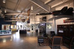 This is just the lobby! Stafford Air and Space Museum, Weatherford, OK! Air And Space Museum, Route 66, This Is Us, Washington, Ceiling Lights, House, Home, Haus, Ceiling Lamp