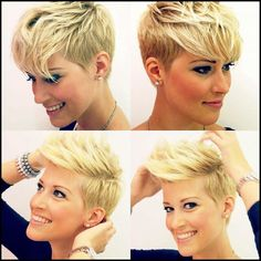 30 latest layered haircut photos for alluring styles short hair styles photos layered latest haircut alluring latest layered haircut photos for alluring styles cheveux courts 0 Kas 2018 short hair 0 Layers determine the style of short… Haircuts For Curly Hair, Pixie Hairstyles, Pixie Haircut, Curly Hair Styles, Cool Hairstyles, Hairstyle Images, Haircut Images, Haircut Pictures, Undercut Pixie