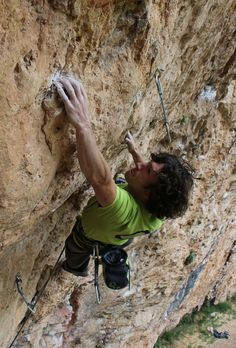 Tom Bolger on his new route Gypsy Blood (8c+) at Santa Linya