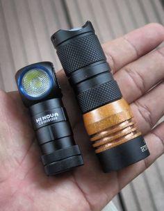 Whopping 1400 Lumen Manker E14 4 Cree XP-G2 Cree XP-G3 Nichia 219B EDC Led Flashlight
