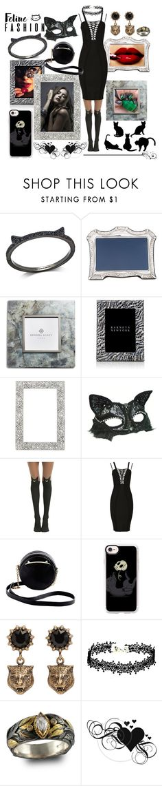 Feline u0026 Fab  by vanyaraina on Polyvore featuring Kate Spade Kendra Scott  sc 1 st  Pinterest : frontgate halloween costumes  - Germanpascual.Com