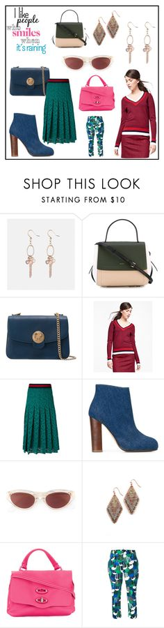 """fashion infection"" by kristen-stewart-2989 on Polyvore featuring Avenue, DKNY, Brooks Brothers, Gucci, Jean-Michel Cazabat, RetroSuperFuture, NAKAMOL, Zanellato and Dsquared2"