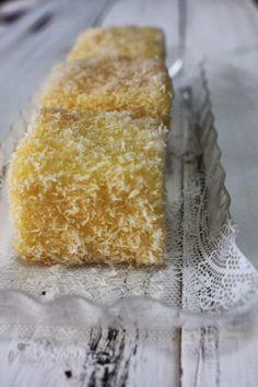 Sugarlicious: 檸檬林明頓 Lemon Lamington