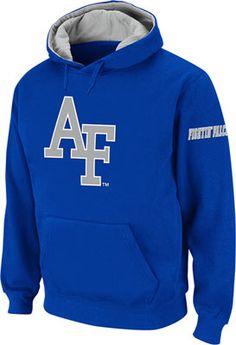 Air Force Falcons Royal Twill Pep Rally Hooded Sweatshirt