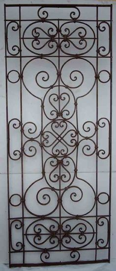Wrought Iron Ornate Gates/Fences 2 - Click Image to Close