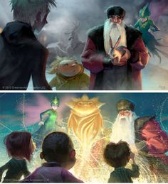RiseoftheGuardians-ArthurFong-1 - never saw this movie, but the art and aesthetics are to die forrr
