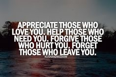 Forgive And Forget...