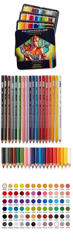 Art Pencils and Charcoal 28108: 72 Premium Colored Pencils Soft Core Prismacolor For Drawing Shading Shadows -> BUY IT NOW ONLY: $31.49 on eBay!