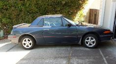 Comparing a Mercury Capri XR2 to a Mazda Miata