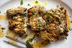 Garlicky Chicken by Way of the Middle East