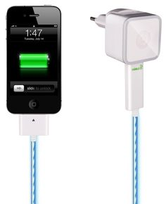 Save Energy With the Intelligent Visible Green Smart Charge Cable
