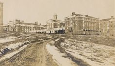View of the Sweet Briar College Campus, 1914.  Sweet Briar College, some rights reserved. CC-BY-NC.