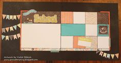 Gone Stamping Boutique: Chalk It Up: First Day of School Layout