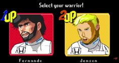 """Cars - Vidéo : Alonso et Button en mode """"Retro Games"""" dans Turbo Heroes ! - http://lesvoitures.fr/video-alonso-button-mc-laren-turbo-heroes/"""
