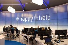 KLM's Social Media Team attempts to respond to every single Twitter travel query #happytohelp