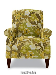 Looks great from HouseBeautiful. Charlotte Chair