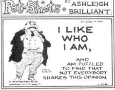 ashleigh brilliant -- samples of pot-shots
