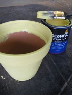 how to spray paint plant pots rustoleum spray paint www. Black Bedroom Furniture Sets. Home Design Ideas