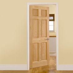 29 New Ideas for internal door frames interior design Internal Door Frames, Internal Doors, 6 Panel Doors, Oak Doors, Doors And Floors, Windows And Doors, Single Patio Door, Wooden Sliding Doors, Make A Door