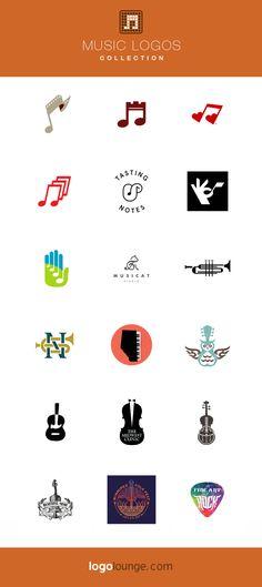 Ideas For Music Logo Fonts Typography Logo, Art Logo, Logo Branding, Logos, Music Logo Inspiration, Logo Design Inspiration, Design Ideas, Icon Design, Logo Musik