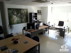 Nuestras Oficinas de Enube Marketing Solutions en Edificio Corona Center, C/ Perú, 49. 1ª Planta. Módulo 23. Bormujos - Sevilla.