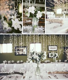 Real Wedding at Paternoster Lodge {Katie Wedding Grey, Gray Weddings, Driftwood Centerpiece, Wedding Decorations, Table Decorations, Fairy Lights, Wedding Venues, Wedding Inspiration, Beach