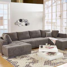 Aspectul modern și culoarea neutră recomandă ansamblul din gama Monza o alegere ideală pentru amenajarea spațiului din livingul vostru. #mobexpert #mobexpertblackfriday #reduceri #canapele #coltare Living, Sofa, Couch, Design Case, Black Friday, Modern, Furniture, Ideas, Home Decor