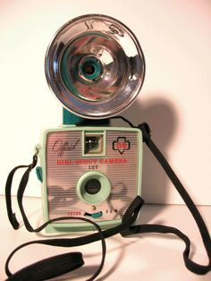 One of the Girl Scout cameras I want! #girlscout #camera #cute #vintage #photography #film