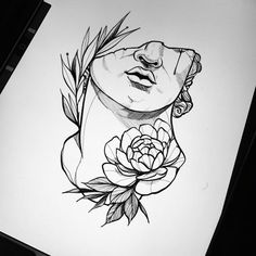 "O estilo ""Blackwork"" na tatuagem brasileira - Tattoo Sketches, Drawing Sketches, Tattoo Drawings, I Tattoo, Art Drawings, Blackwork, Kunst Tattoos, Body Art Tattoos, Ink Master Tattoos"