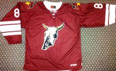 Custom sublimated jersey Longhorns Hockey  GitchSW Facebook - Gitch  Sportswear e7f42a098