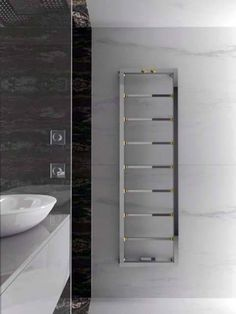 wall mounted heated towel rail google search - Bathroom Accessories Towel Rail
