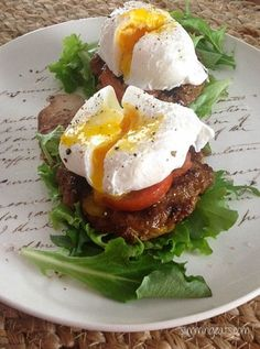 yummy breakfast towers paleo friendly, gluten free, dairy free, sugar free