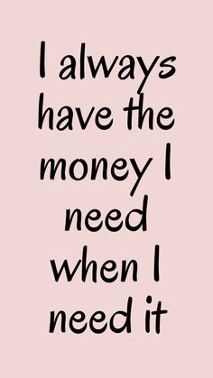 Positive Affirmations Quotes, Wealth Affirmations, Morning Affirmations, Law Of Attraction Affirmations, Affirmation Quotes, Positive Quotes, Positive Vibes, Words Quotes, Life Quotes