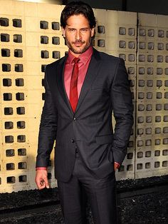 Shirt off is pretty nice.  But there is something about a man in a well tailored suit.   UNDER COVER   photo | Joe Manganiello