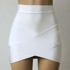 f21e6704d7b09 Cross Strap Mini Skirt (Multiple Colors) Tight Skirts