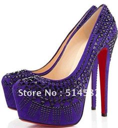 | newest style unique leather high heel shoes for lady