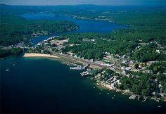 Wiers Beach, Lake Winnipesaukee, Laconia NH