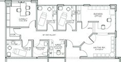 community pediatric clinic layout - Google Search