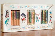 Vintage 35 Miniature The Tiny Golden Books by HouseofSeance