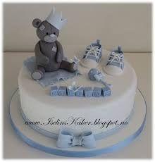 Bildresultat för dåpskake Baby Christening Cakes, Baby Boy Cakes, Cakes For Boys, Baby Shower Cakes, Teddy Bear Cakes, Communion Cakes, Cute Cakes, Fondant Cakes, Cake Designs